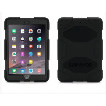 Coque indestructible Survivor noire iPad Mini