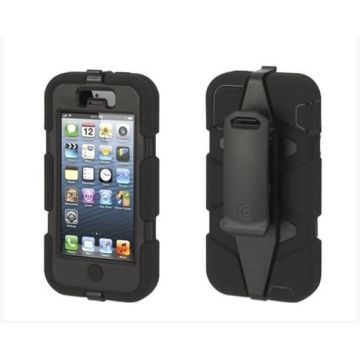 Indestructible Survivor Case Black for iPhone 5C
