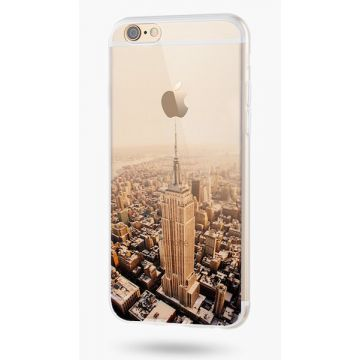 Supple Silicone Empire State Building iPhone 6 Plus/6S Plus Case