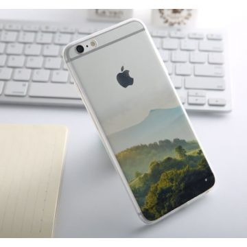 Soft Silicone Green Hill iPhone 6/6S Case
