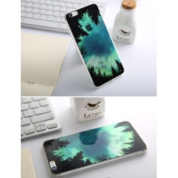 Supple Silicone Northern Lights iPhone 6 Plus/6S Plus Case