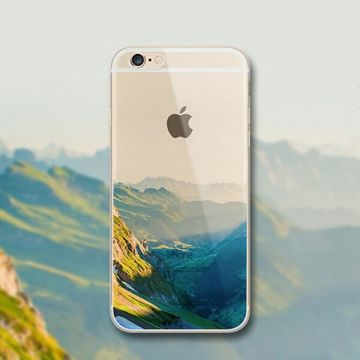 Coque Souple Montagne iPhone 6/6S
