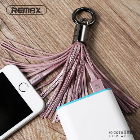 Remax Lightning Cable Keyring