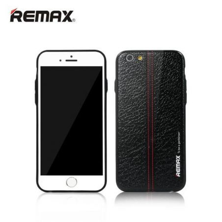 Coque Remax Gentleman Carbone Lignes iPhone 6/6S