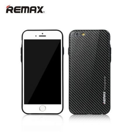 Coque Remax Gentleman Carbone Noir iPhone 6/6S