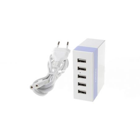 Chargeur 5 ports USB Remax