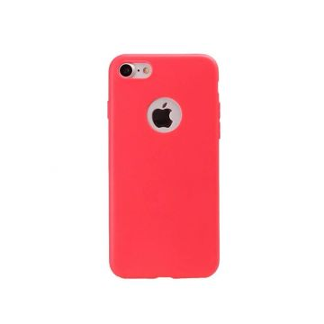 Siliconen Cover iPhone 7 - Red Coral