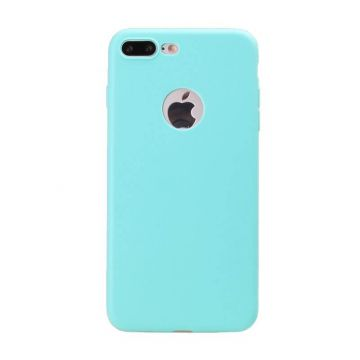 Siliconen Cover iPhone 7 Plus - Turquoise