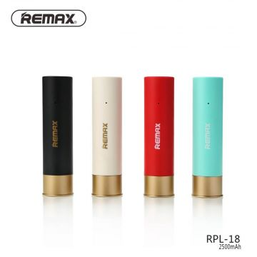 Batterie Externe Power Bank 2500 mAh Cartouche Remax