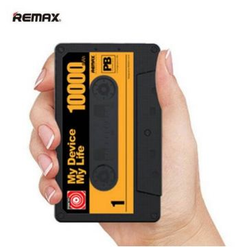Batterie Externe Power Bank 10000 mAh Cassette Remax