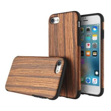 Cover Rock Origineel Series hout iPhone 7