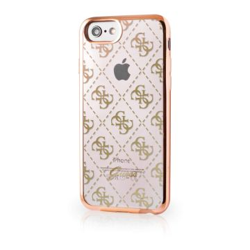 Guess Clear Gold cover iPhone 7