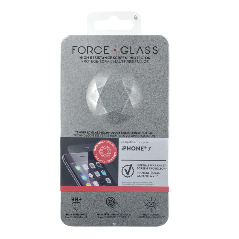 Protège-écran Force Glass Garanti à vie iPhone 7
