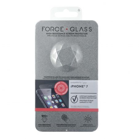 Force Glass Lifetime Warranty Screen Protector iPhone 7