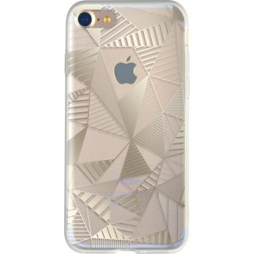 Bigben Gold Graphic Cover iPhone 7