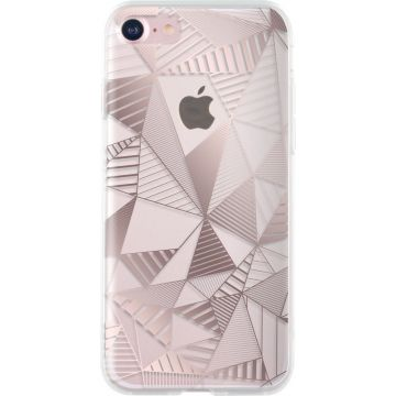 Coque Graphique Or Rose Bigben iPhone 7 / iPhone 8