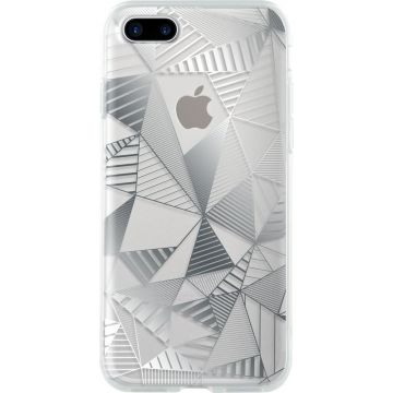 Bigben Silver Graphic Case iPhone 7 Plus