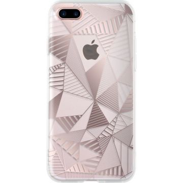 Bigben Rose Gold Graphic Cover iPhone 7 Plus