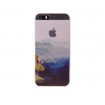 Coque Souple Montagne iPhone 5/5S/SE