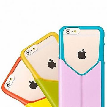 Hoco in. Design Flip hoesje iPhone 5,5S en SE