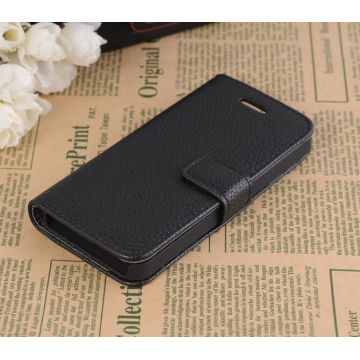 Portfolio Stand Case Black iPhone 5/5S/SE