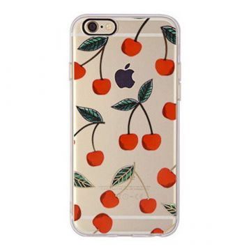TPU Cherries iPhone 7 / iPhone 8 Case