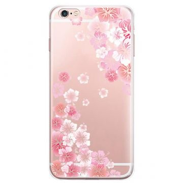 TPU Hawaï Flowers iPhone 7 / iPhone 8 Case