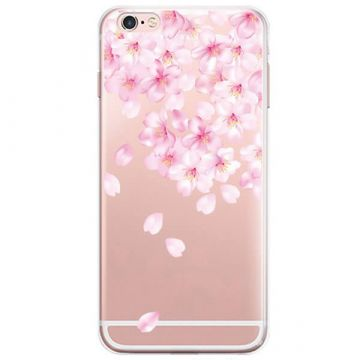 TPU White Flowers iPhone 7 Case