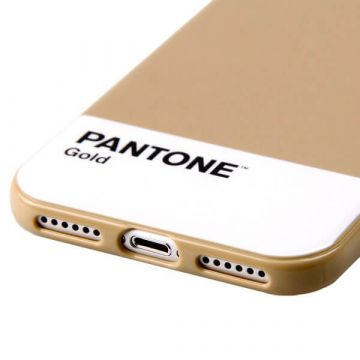 Gold Pantone iPhone 7 Case