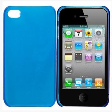 Crystal Cover  Blauw IPhone 4 4S