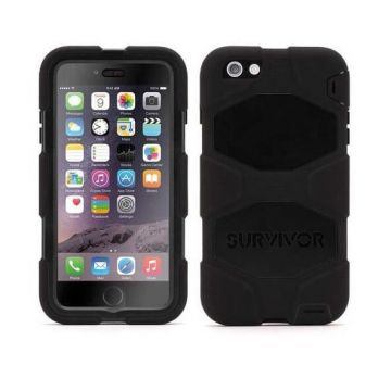 Indestructible Survivor Case Black for iPhone 6