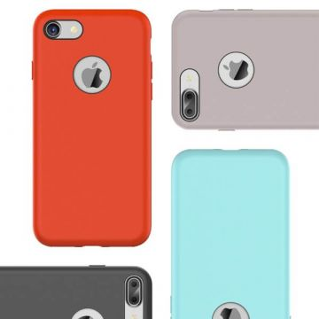 Coque en silicone Touch serie Rock iPhone 7 Plus / iPhone 8 Plus