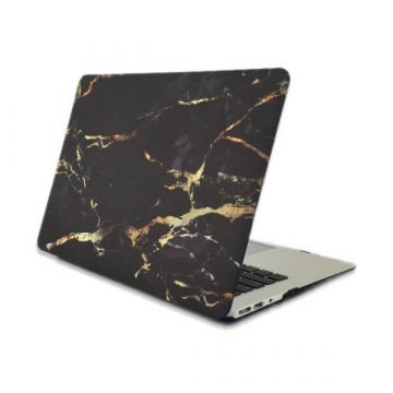 "Goude Marmer soft touch case MacBook Pro 13"" met of zonder Touch Bar"
