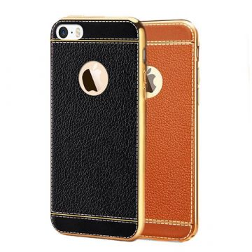 Coque souple Simili Cuir iPhone 7