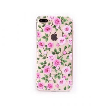 TPU Roses iPhone 7 Plus Case