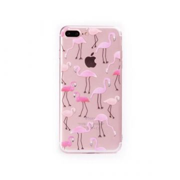 Coque Flamant Rose TPU pour iPhone 7 Plus