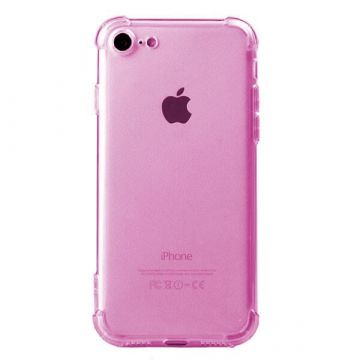 Anti-shock roze hoesje iPhone 7 / iPhone 8