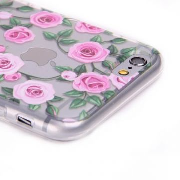 Coque Roses TPU pour iPhone 7