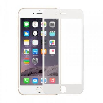 Curved tempered glass film with carbon fibre contour iPhone 7Plus / iPhone 8 Plus