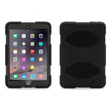 Onverwoestbare zwarte case iPad 2018 / 2017 / Air / Air 2 / Pro 9.7''