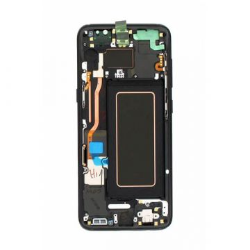 Original quality complete screen for Samsung Galaxy S8 in black