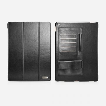 Leather Case Business multi-cards black for iPad Pro Icarer