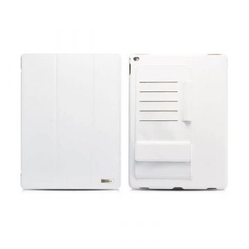 "Leather Case Business multi-cards white for iPad Pro Icarer 12,9"" (2015)"