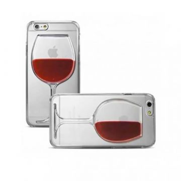 Case TPU Glass Wine for iPhone 6 Plus and iPhone 6S Plus