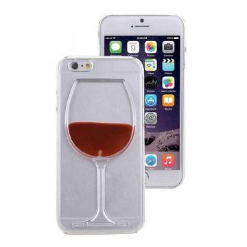 TPU Case Glaswijn voor iPhone 6 Plus en iPhone 6S Plus