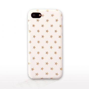 Soft Case Gold Stars iPhone 7 Plus / iPhone 8 Plus
