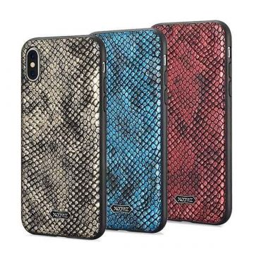 Coque TPU Cuir Python for iPhone X