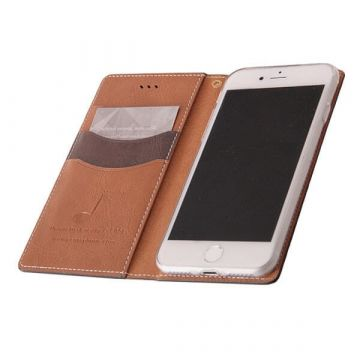 Etui portefeuille simili cuir iPhone 7