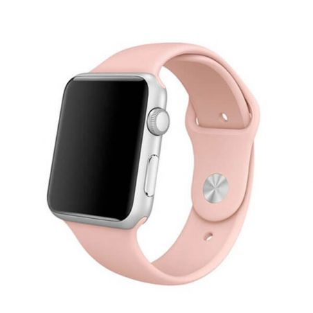 Bracelet Apple Watch 38mm Rose pâle S/M et M/L