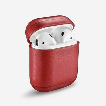 Protective leather case for Airpods